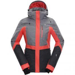 Куртка Alpine Pro Sardara 2 жіноча рожева/сіра