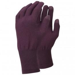 Перчатки Trekmates Merino Touch Glove фиолетовые