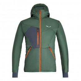 Куртка Salewa Pedroc Hybrid TWC Mns Hood Jacket мужская зеленая