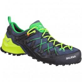 Кросівки Salewa MS Wildfire Edge чоловічі сині/зелені