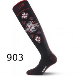 Шкарпетки Lasting SWN чорні
