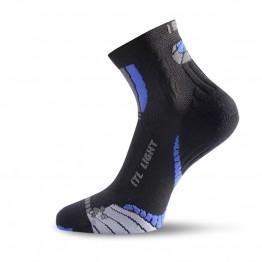 Носки Lasting ITL черные/синие