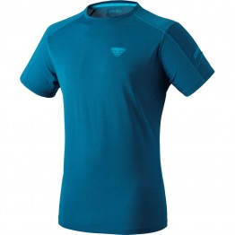 Футболка Dynafit Transalper S/S Tee Men чоловіча синя