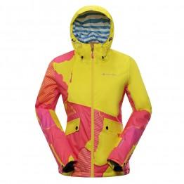 Куртка Alpine Pro Makera женская желтая