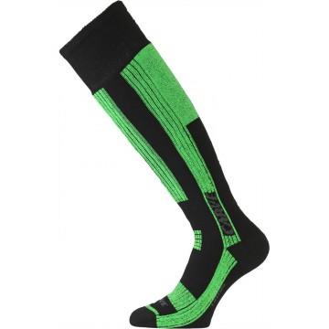 Шкарпетки Lasting SKG чорні/зелені