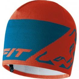 Шапка Dynafit Leopard Logo Beanie синий/оранжевый