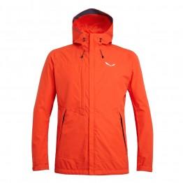Куртка Salewa Puez Clastic PTX 2L чоловіча оранжева