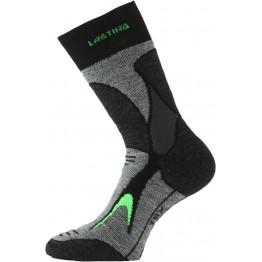 Шкарпетки Lasting TRX чорні/сірі