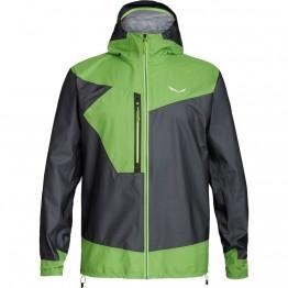 Куртка Salewa Pedroc 2 GTX ACT JKT чоловіча чорна/зелена
