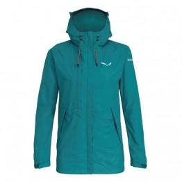 Куртка Salewa Puez Clastic PTX 2L Wmn женская зеленая