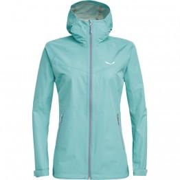 Куртка Salewa Aqua Wmn 3.0 женская голубая
