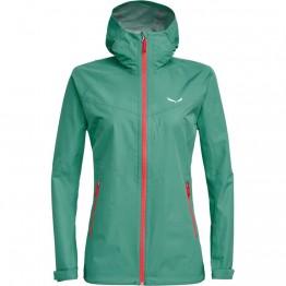 Куртка Salewa Aqua Wmn 3.0 жіноча зелена
