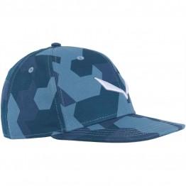 Кепка Salewa Puez Camou Flat синя
