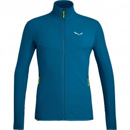 Фліс Salewa Plose 5 Polarlite Mns Full-Zip чоловічий синій