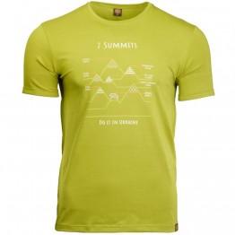 Футболка Turbat 7 Summits чоловіча зелена