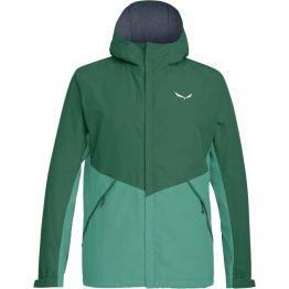 Куртка Salewa Puez PTX 2L чоловіча зелена