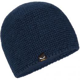 Шапка Salewa Sarner Wool Beanie синій
