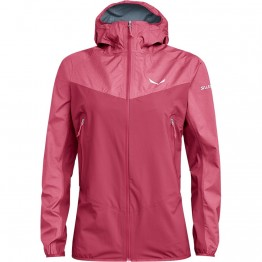 Куртка Salewa Agner PTX 3L JKT Wmn женская розовая