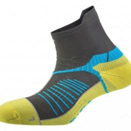 Носки Salewa Ultra Trainer серые/желтые
