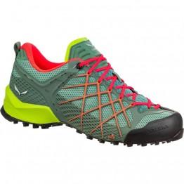 Кроссовки Salewa WS Wildfire женские зеленые