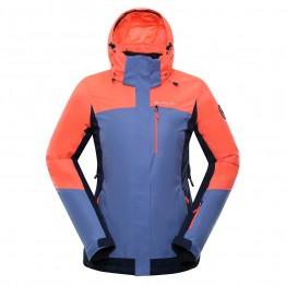 Куртка Alpine Pro Sardara 3 жіноча фіолетова/рожева