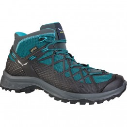 Ботинки Salewa WS Wild Hiker Mid GTX женские синие