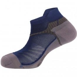 Шкарпетки Salewa Lite Trainer сірі/сині