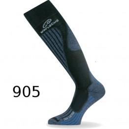 Шкарпетки Lasting SWH чорні\сині