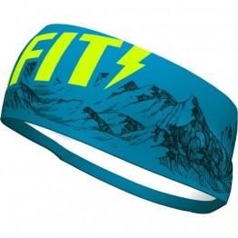 Повязка Dynafit Graphic Performance Headband синяя