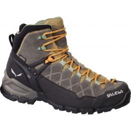 Ботинки Salewa WS ALP Trainer Mid GTX женские коричневые