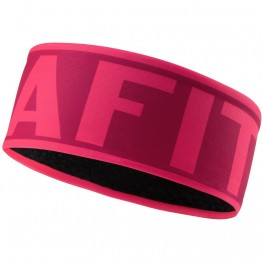 Повязка Dynafit Performance Warm Headband розовая