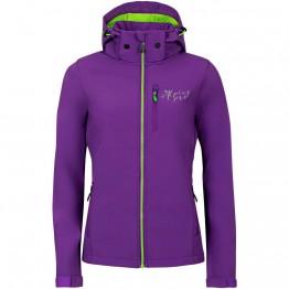 Куртка Alpine Pro Nootka 5 жіноча фіолетова