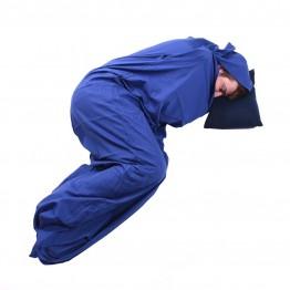 Вкладиш до спальника Trekmates Polycotton Liner Hotelier синій