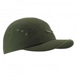 Кепка Salewa Fanes Fold Visor Cap зелений
