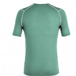 Футболка Salewa Pedroc Hybrid 3 Dry S/S Tee Mns мужская зеленая