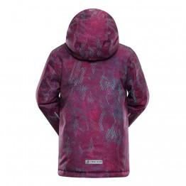 Куртка Alpine Pro Agosto 2 дитяча фіолетова