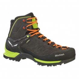 Ботинки Salewa MS MTN Trainer Mid GTX мужские черные/зеленые