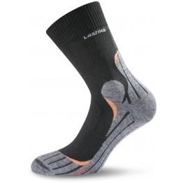 Шкарпетки Lasting TWW чорний/сірий