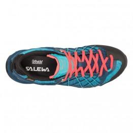 Кроссовки Salewa WS Wildfire GTX женские синие/аквамарин