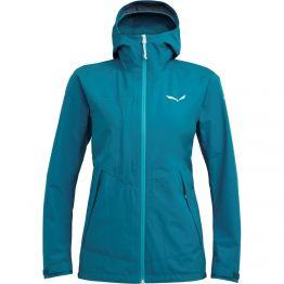 Куртка Salewa Puez 2 GTX 2L Wmn женская темно-синя