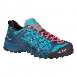 Кросівки Salewa WS Wildfire GTX жіночі сині/аквамарин