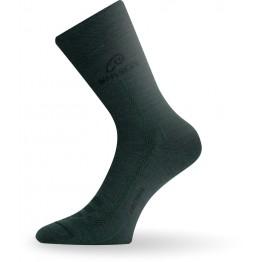 Шкарпетки Lasting WLS темно-зелені