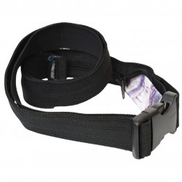 Пояс Trekmates Cairo Travel Trouser Belt + Money Storage чорний