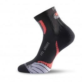 Носки Lasting ITL черные/красные