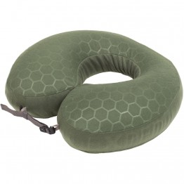 Подушка Exped Neckpillow Deluxe зеленая