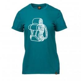 Футболка Turbat Explorer женская темно-бирюзовый