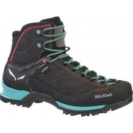Ботинки Salewa WS MTN Trainer Mid GTX женские серые/синие