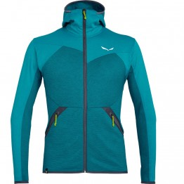 Фліс Salewa Puez Melange Polarlite Full-Zip чоловічий синій