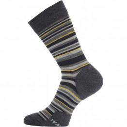 Носки Lasting WPL серые/желтые