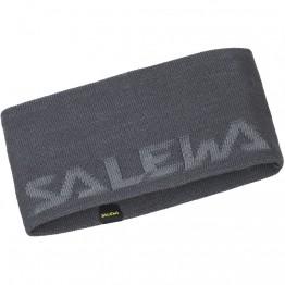 Повязка Salewa Pedroc Wool Headband серая